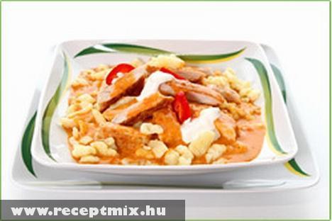 15 perces paprikás csirke
