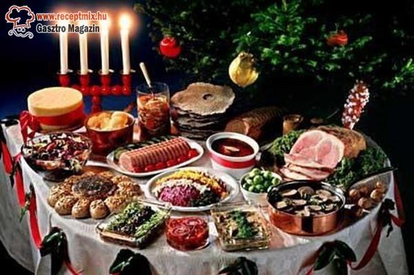 A karácsony jellegzetes ételei, étkezési szokásai