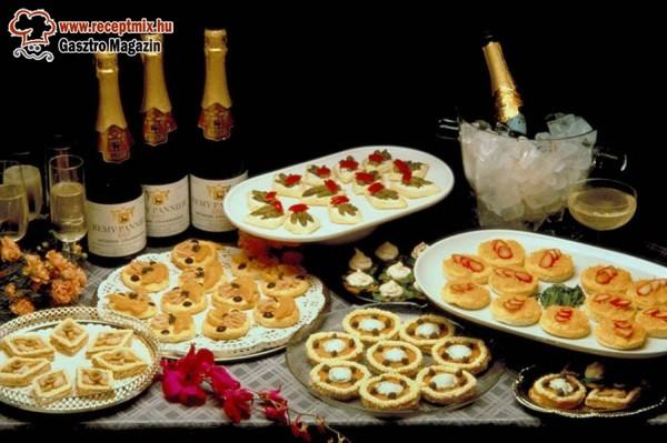 Szilveszter: Ételek és italok