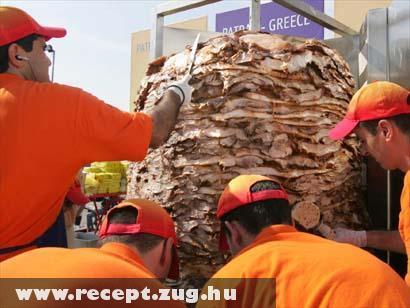 Óriás kebab