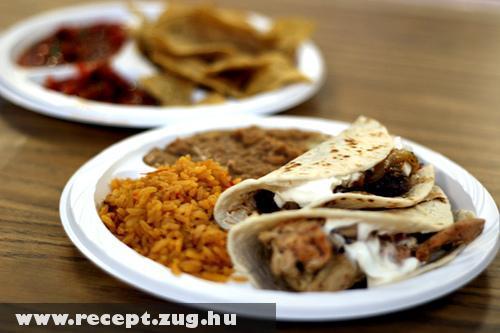 Mexikói diétás menü