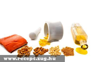 Omega-3 zsírsavat tartalmazó ételek