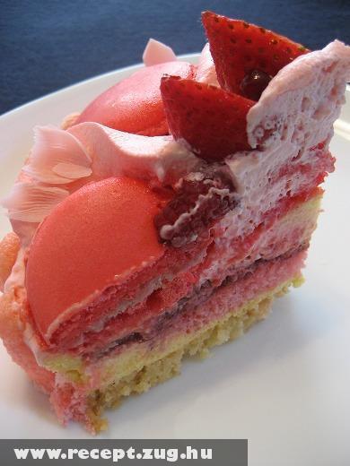 Epres piskóta desszert