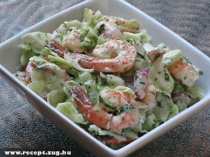 Rákos saláta