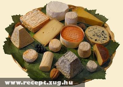 Különleges sajtok