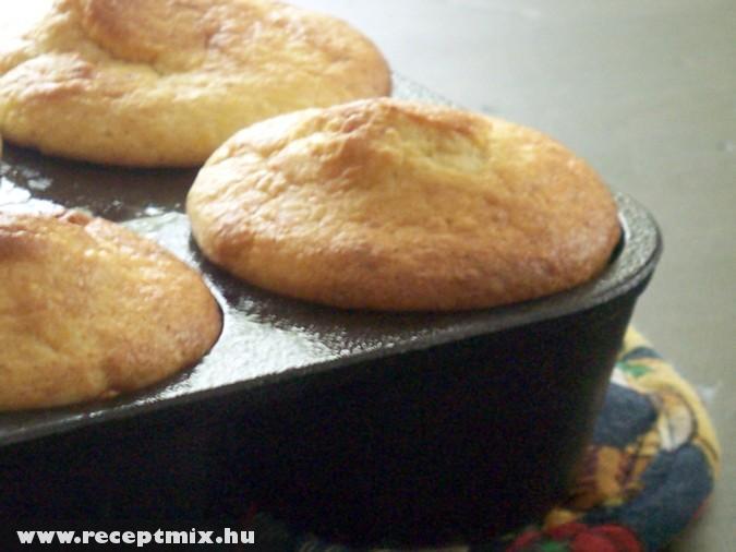 Kukoricalisztbõl készült Muffin