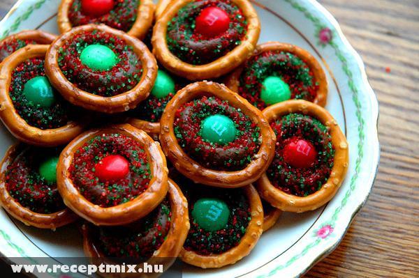 Karácsonyi csokis falatok