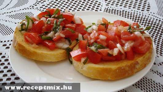 Zöldséges szendvics