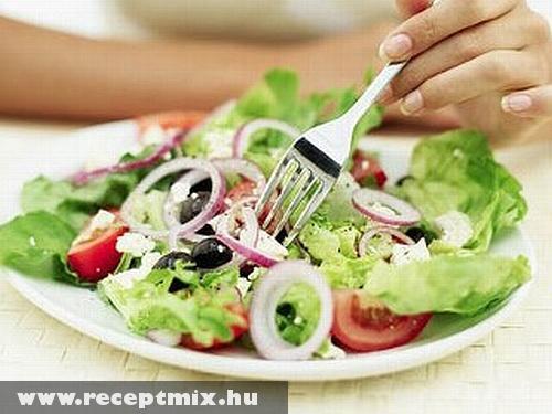 Friss, ropogós saláta