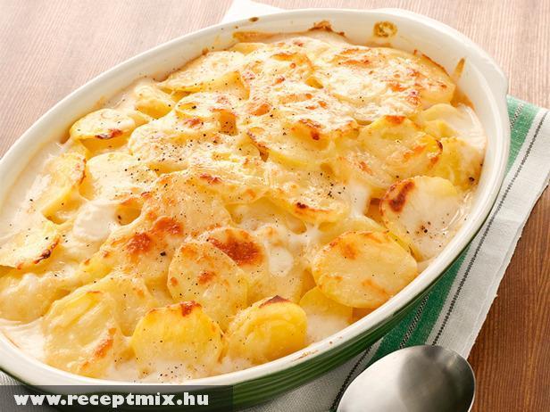Rakott krumpli tojással