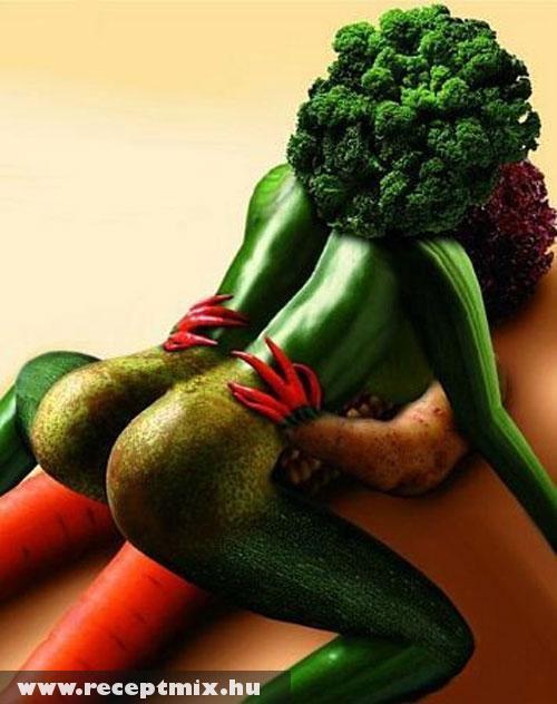 Zöldség szex