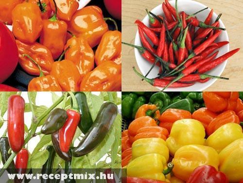 Paprika variációk