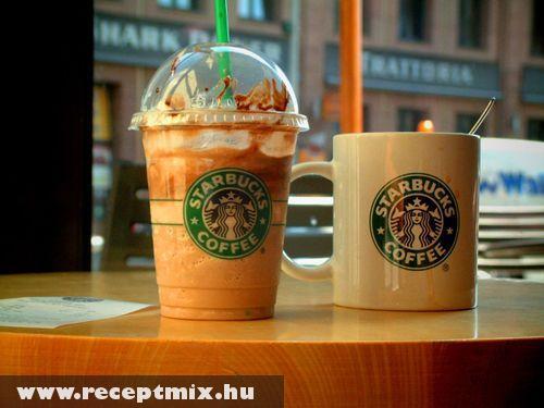Starbucks frappé és kávé