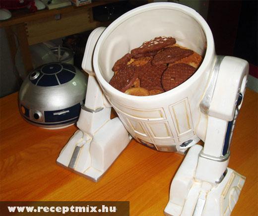 R2D2, mint sütitároló