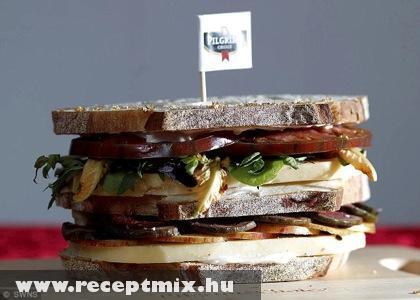 Sajtos szendvics
