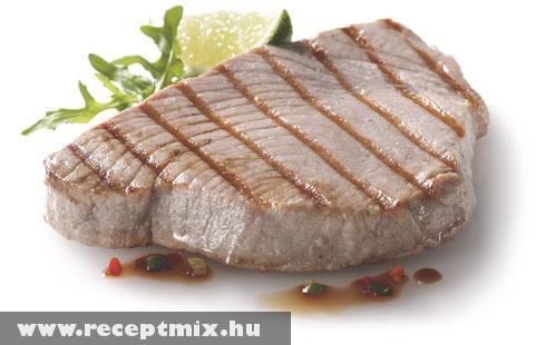 Roston sült tonhal szelet