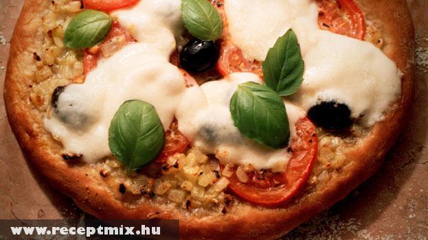 Alacsony zsírtartalmú pizza
