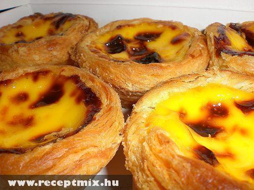 Portugál tojásos kosárka