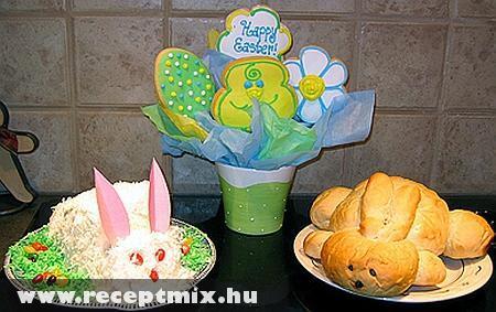 Húsvéti torta és kalács
