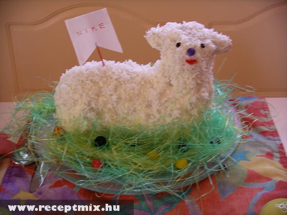 Húsvéti kókuszos bárány