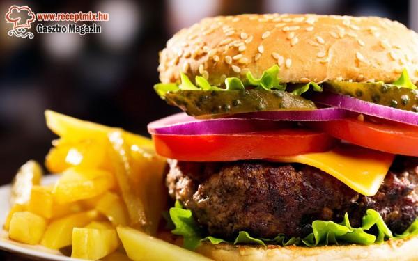 Amerikai hamburger