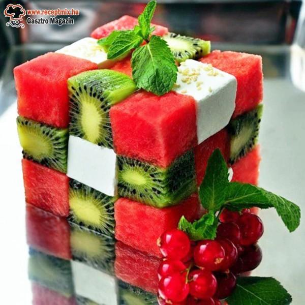 Gyümölcsös Rubik kocka