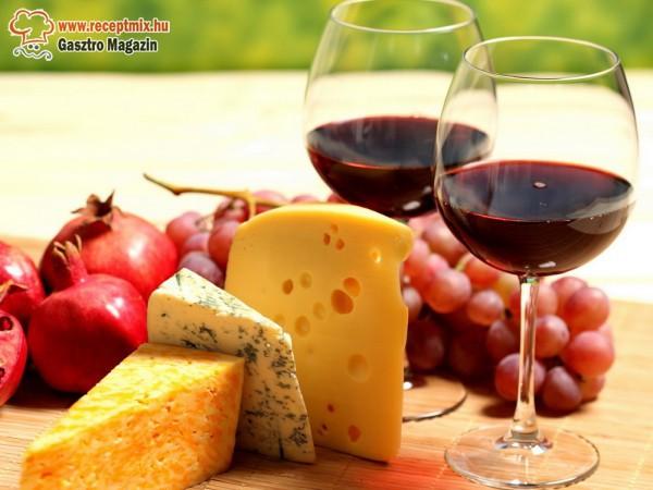 Jó bor mellé elengedhetetlen a sajt