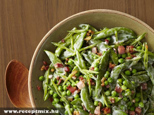 Cukorborsó saláta majonézzel