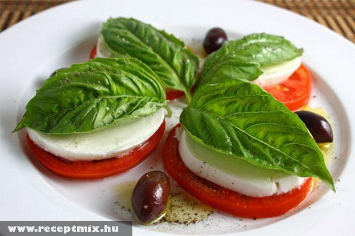 Capri saláta