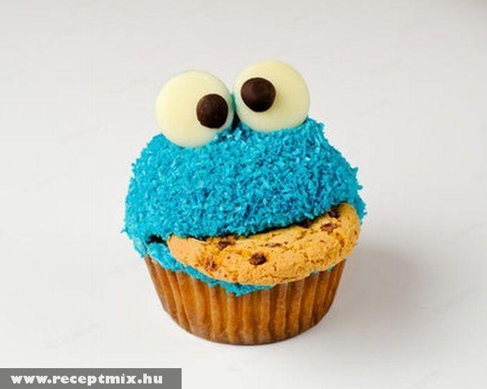 Figurás muffin