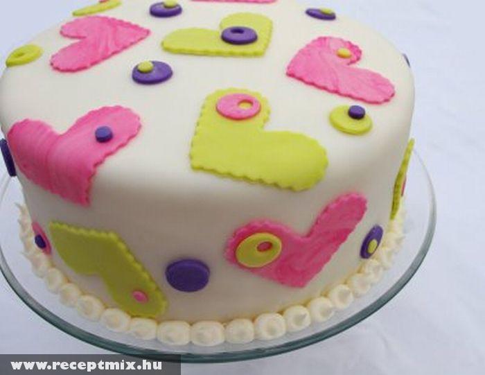 Pillecukros torta