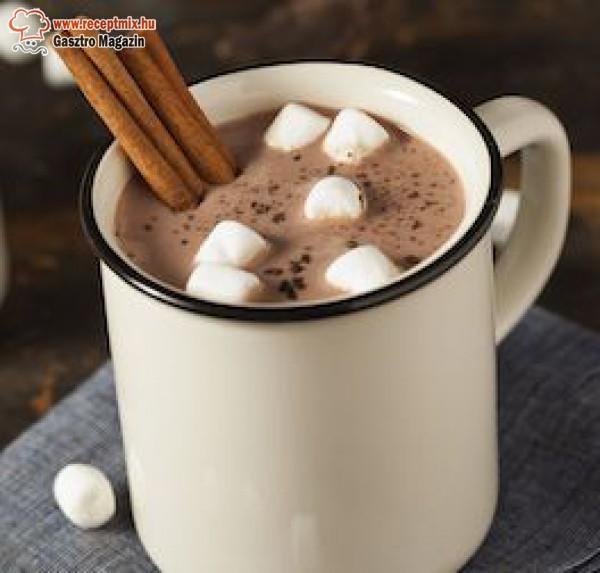 Forró csokoládé hideg napokra