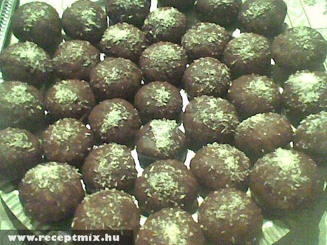 Kókuszos-csokis puszedli Terike módra