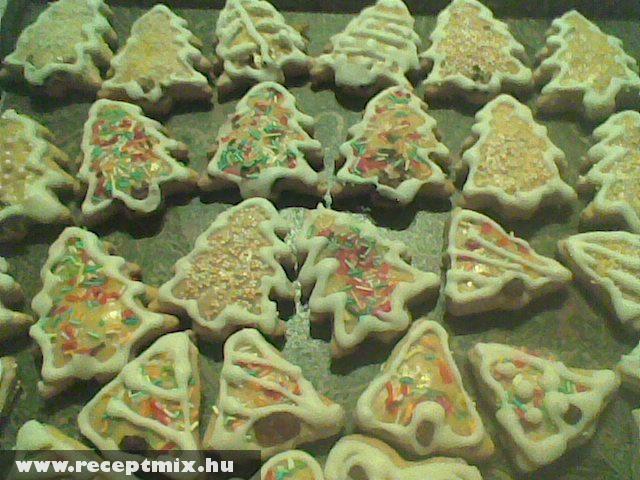 Karácsonyi mézeskalács figurák Terike módra