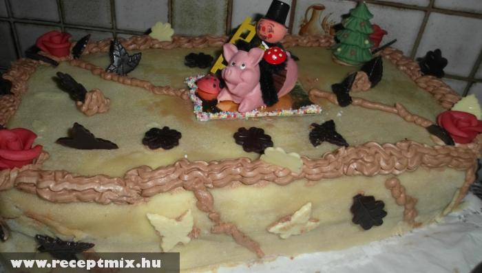 Andi és Terike karácsonyi tortája
