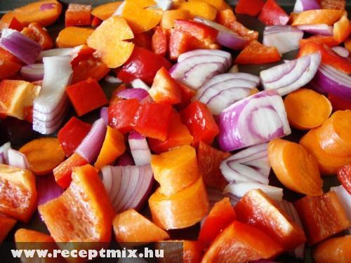 Zöldség mix