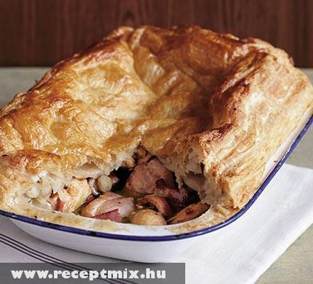 Angol húsos pite