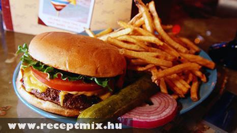 Egy amerikai ebédje