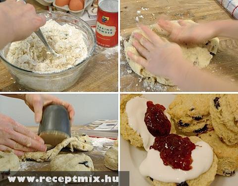 Így készül a csokiskeksz