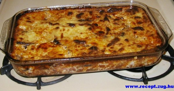 Mousaka - ciprusi étel