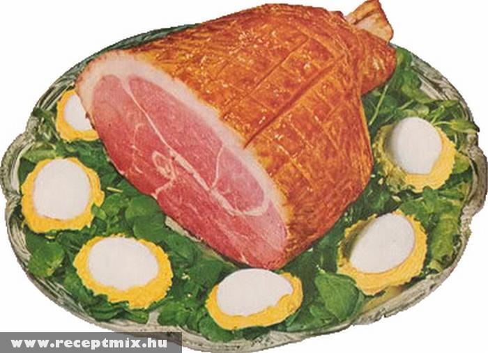 Húsvéti tojás + sonka