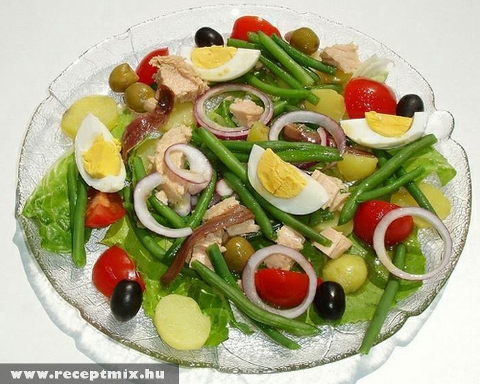 Tojásos hagymás saláta