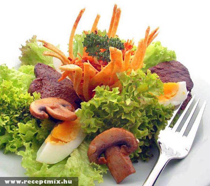 Gombás saláta