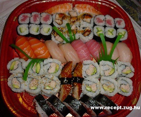 Egy tál Sushi