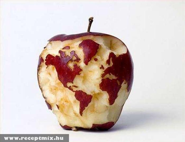 Almába rágott kontinensek