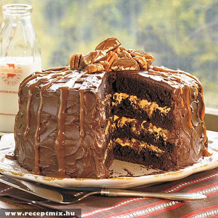 Karamellkrémes torta