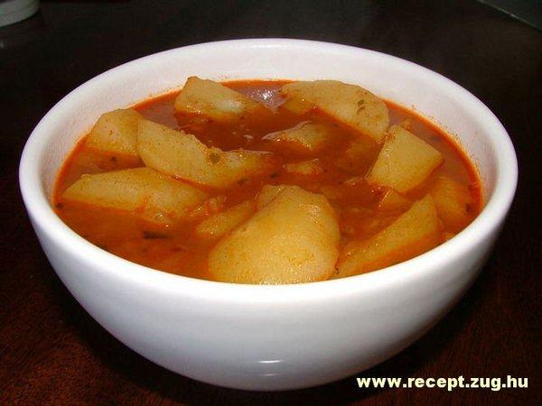 Egy tányér krumplileves