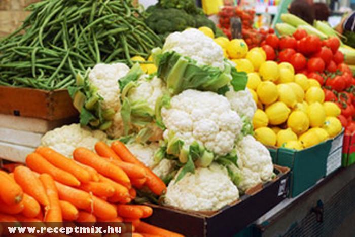 Friss és egészséges zöldségek