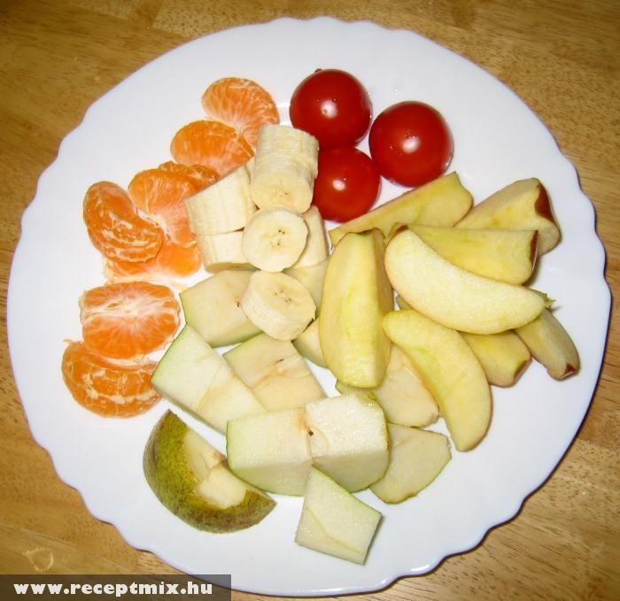 Gyümölcsök reggelire
