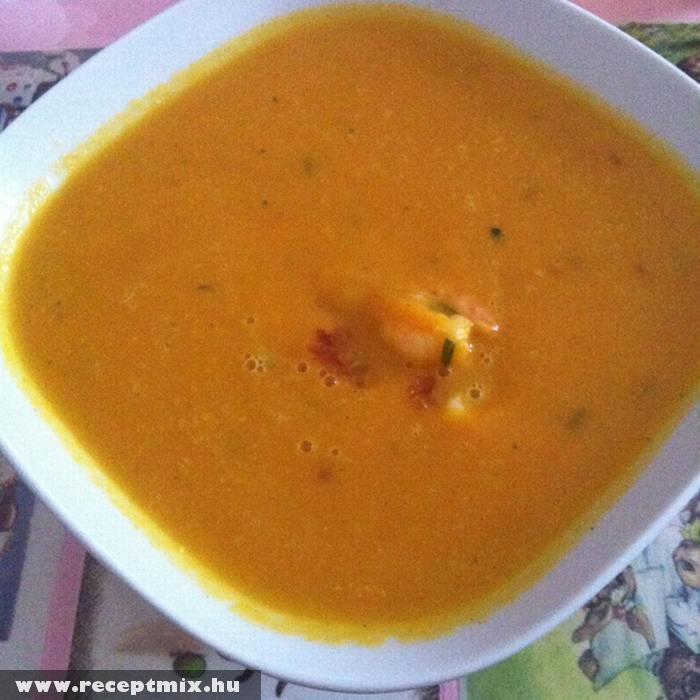 Curry-s krumplileves
